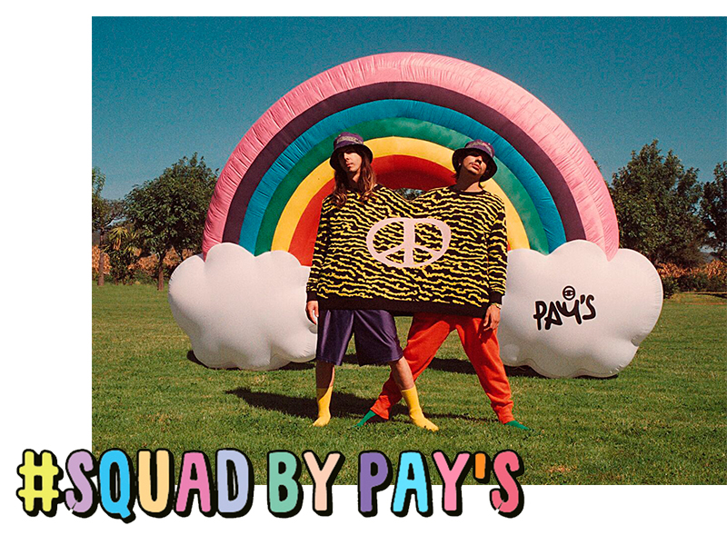 #SQUAD x PAY'S