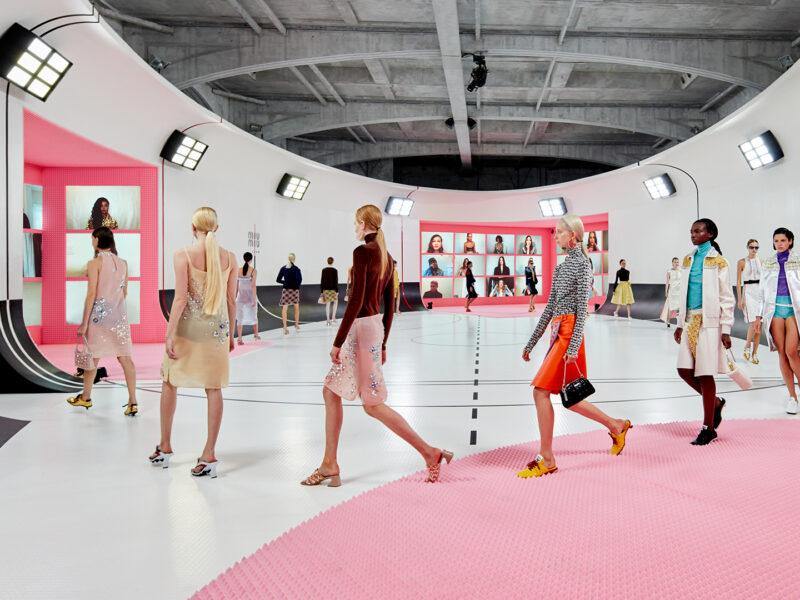 Miu Miu SS21 Imaginary Sports Palace