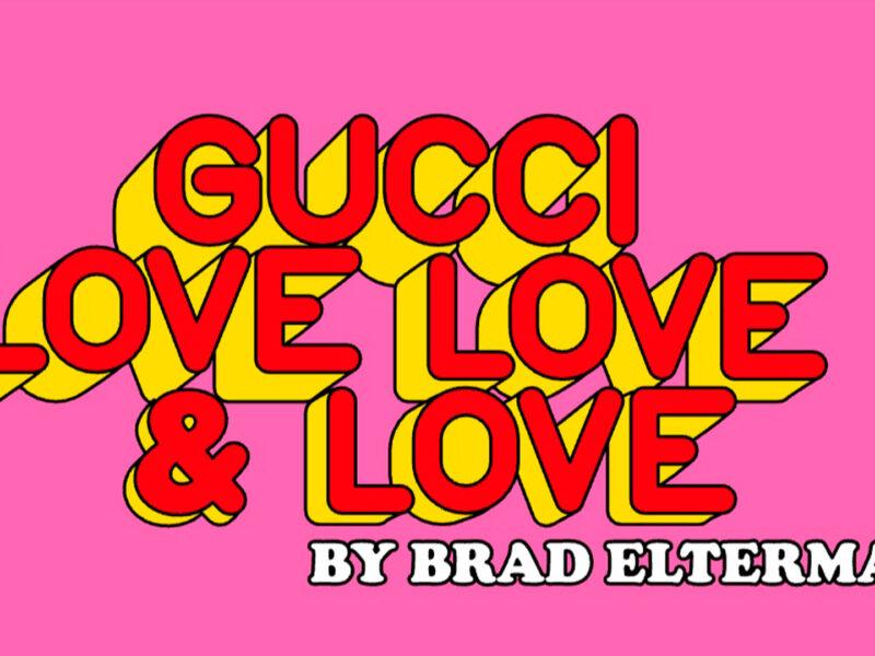 Zine Love, Love & Love by Gucci