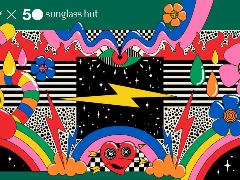 Ray-Ban celebra 50 años de Sunglass Hut